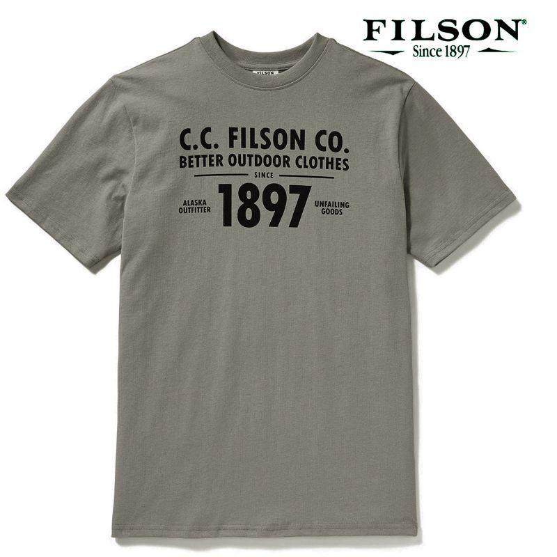 画像2: フィルソン 半袖 Tシャツ(スティープルグレー)/Filson S/S Outfitter Graphic T-shirt(Steeple Grey)