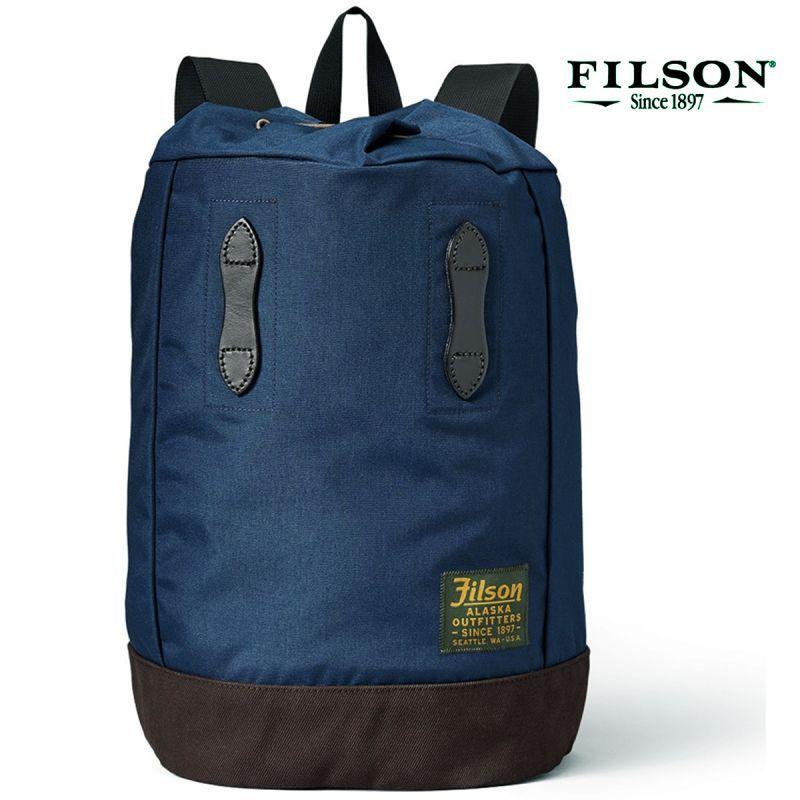 画像1: フィルソン デイパック・バックパック(ネイビー)/Filson Day Pack(Navy) (1)