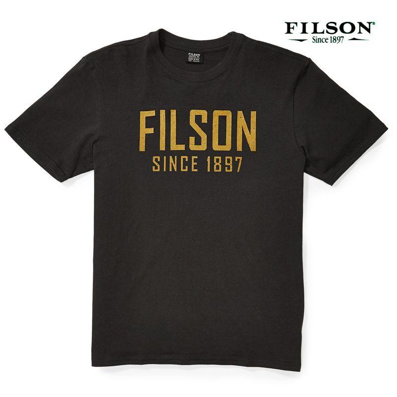 画像2: フィルソン 半袖 Tシャツ(フェイデッドブラック)XS/Filson S/S Outfitter Graphic T-shirt(Faded Black)