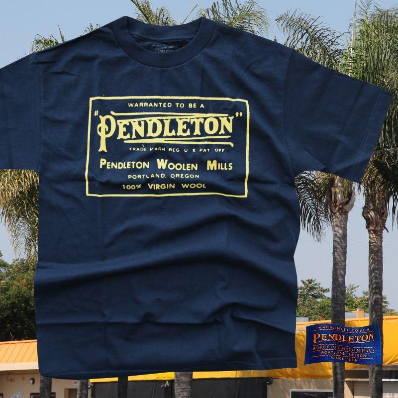 画像1: ペンドルトン ヘリテージ ロゴ 半袖 TシャツS/Pendleton SS T-shirt