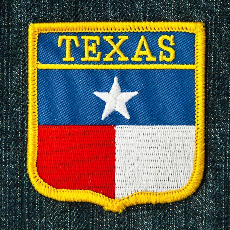 画像1: ワッペン テキサス スター/Patch Texas (1)