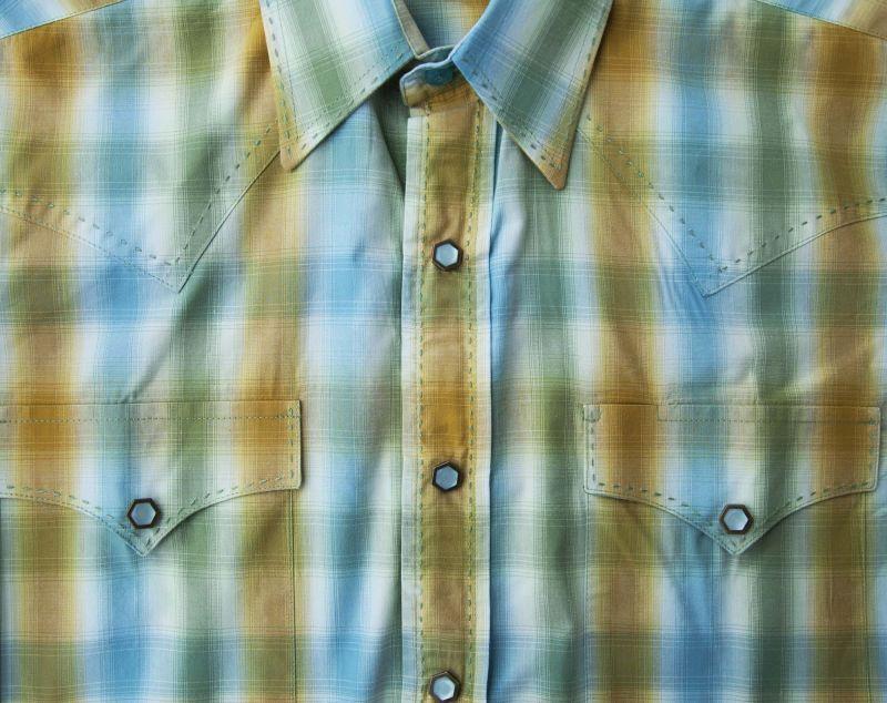 画像2: パンハンドルスリム ブルックス&ダン コレクション ウエスタンシャツ・ターコイズ(長袖)/Brooks&Dunn By Panhandle Slim Long Sleeve Western Shirt(Turquoise)