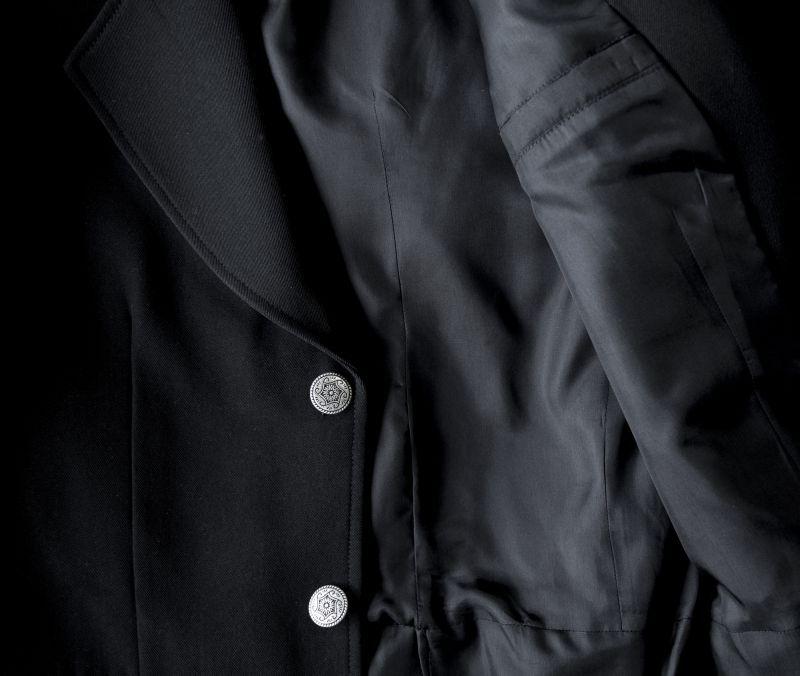 画像2: ワーメーカー フロック タウン コート(ブラック)34/Wah Maker Frock Town Coat(Black)