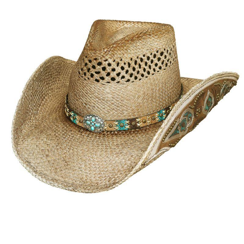 画像2: ハンドウーブン パナマ カウガール ストローハット(ナチュラル)M/Genuine Panama Hand Woven Straw Hat (Natural)