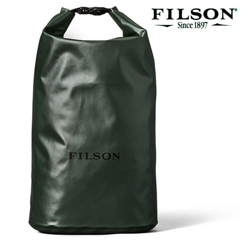画像1: フィルソン ミディアムサイズ ウォータープルーフ ドライ バッグ(グリーン)/Filson Dry Bag-Medium(Green) (1)