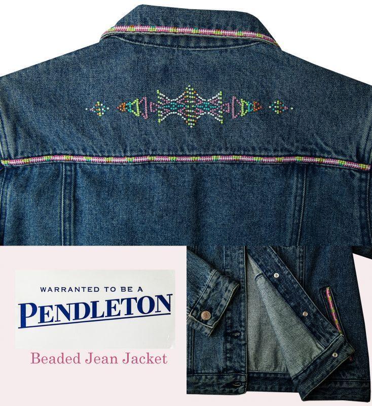画像3: ペンドルトン ビーズ ジーンズ ジャケット/Pendleton Beaded Jean Jacket