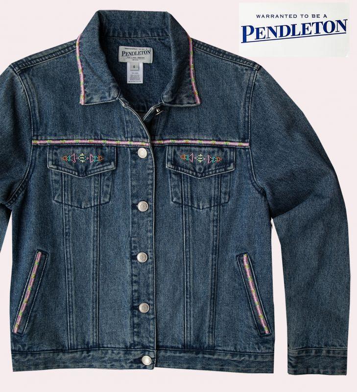 画像4: ペンドルトン ビーズ ジーンズ ジャケット/Pendleton Beaded Jean Jacket