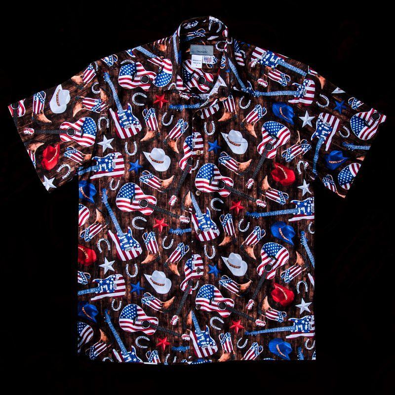 画像1: カントリー&ウエスタン 半袖シャツ/Short Sleeve Shirt