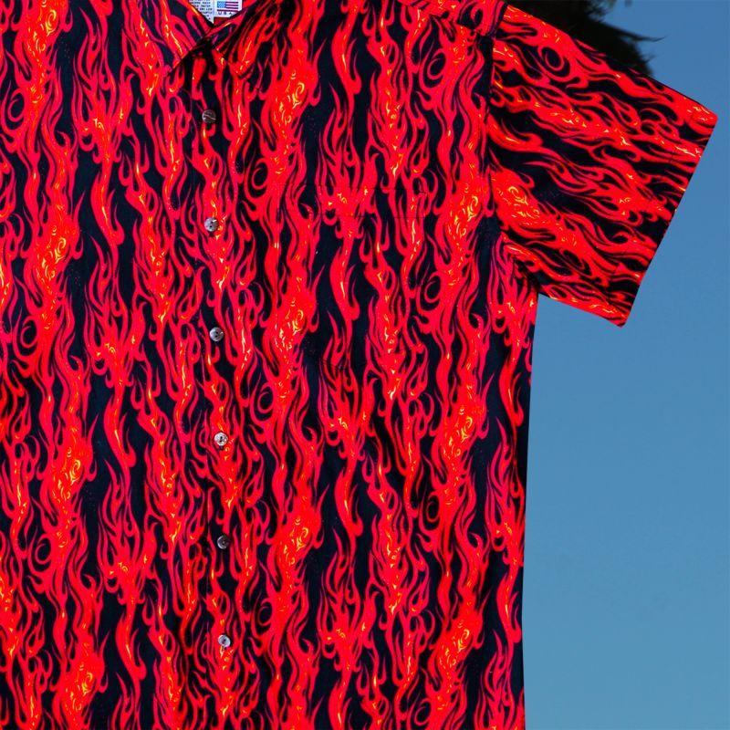 画像2: ファイヤー 半袖シャツ/Short Sleeve Shirt