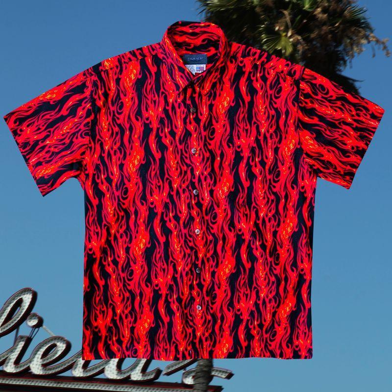 画像1: ファイヤー 半袖シャツ/Short Sleeve Shirt