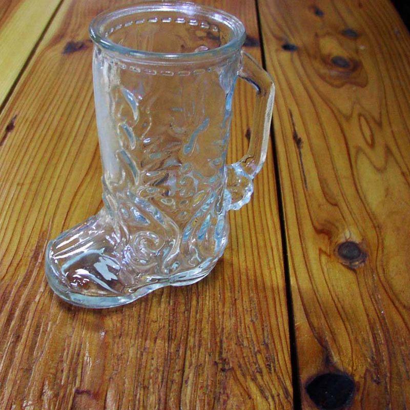 画像1: ブーツ型 ビール ジョッキ/Boots Style Beer Glass
