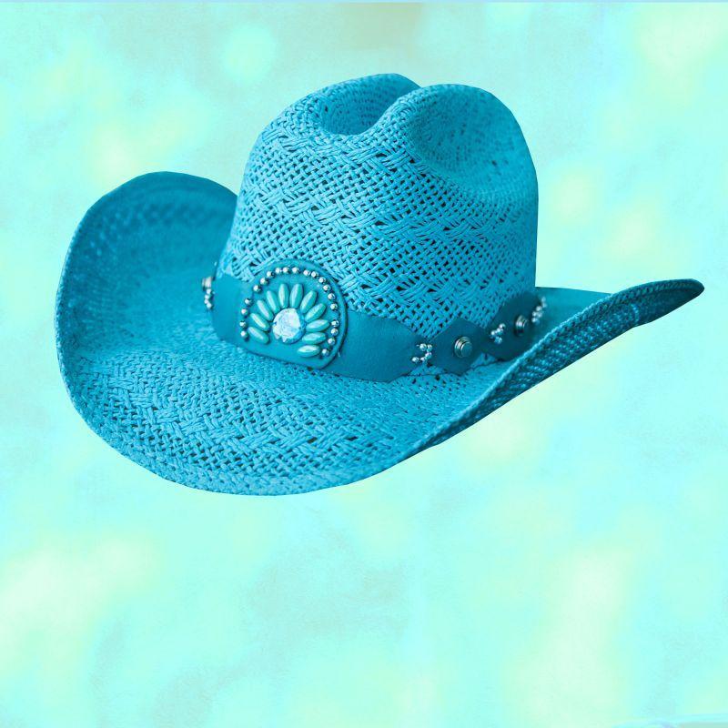 画像3: ブルハイド ウエスタン ストローハット イッチィグーニー(ホワイト)/Bullhide Western Straw Hat Itchygoonie(White)