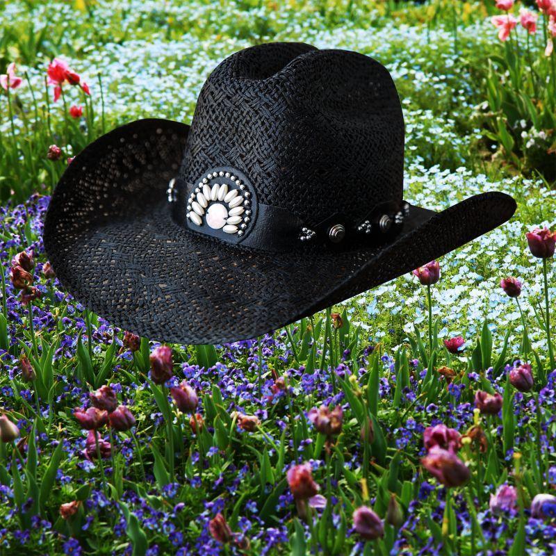 画像4: ブルハイド ウエスタン ストローハット イッチィグーニー(ホワイト)/Bullhide Western Straw Hat Itchygoonie(White)