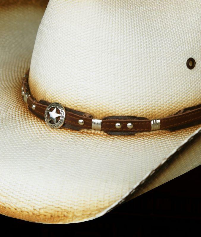 画像2: ローンスター ウエスタン ストローハット(ナチュラル)/Western Straw Hat