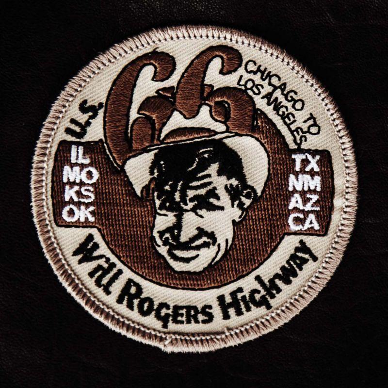 画像1: ワッペン ルート66 ウィルロジャースハイウェイ/Patch Route 66 Will Rogers Highway