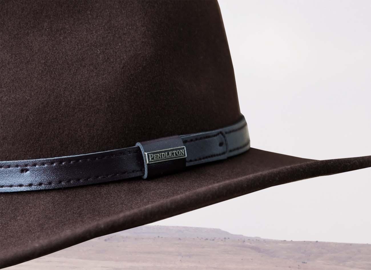 画像2: ペンドルトン アウトバック ハット(ブラウン)/Pendleton Outback Hat(Fall Brown)