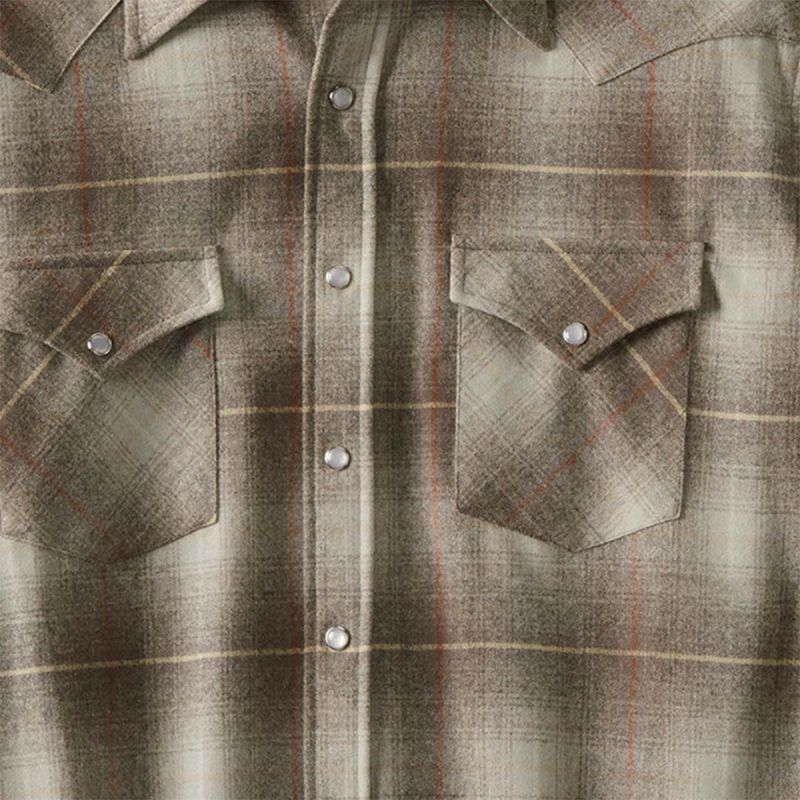 画像2: ペンドルトン ウエスタンシャツ(サンタクララタンオンブレ)/Pendleton Western Shirt