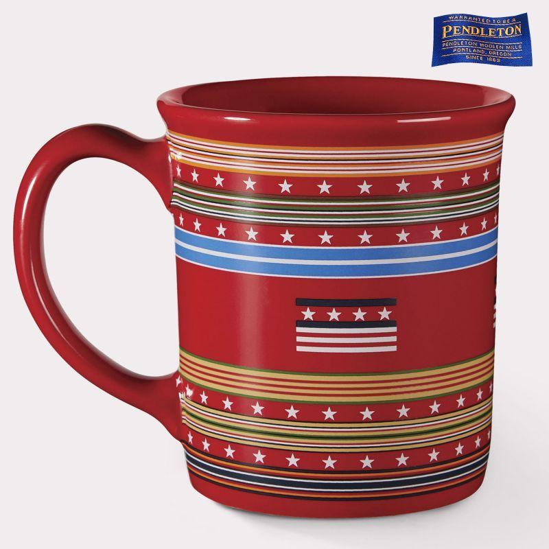 画像1: ペンドルトン コーヒーマグカップ(グレイトフルネイション)/Pendleton Coffee Mug(Grateful Nation)