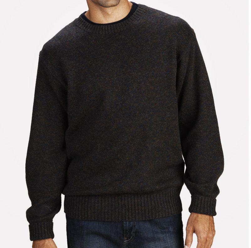 画像3: ペンドルトン シェトランド ウール セーター(インディゴヘザー)XS/Pendleton Shetland Wool Sweater Indigo Heather