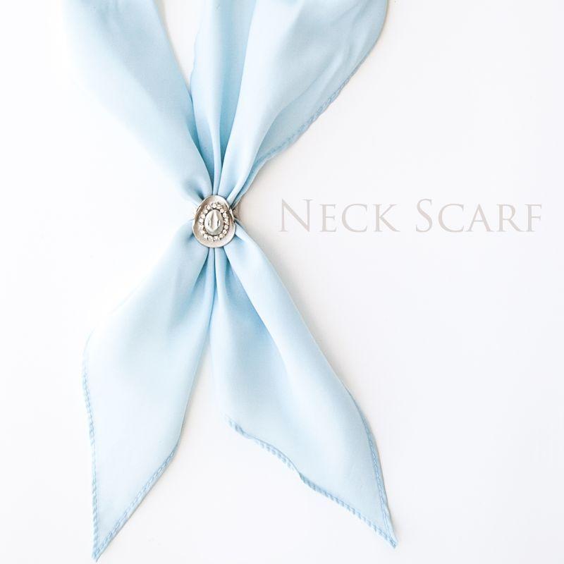 画像1: アメリカンカウボーイタイ ネックスカーフ(ライトブルー)/Cowboy Tie/Neck Scarf(Light Blue)