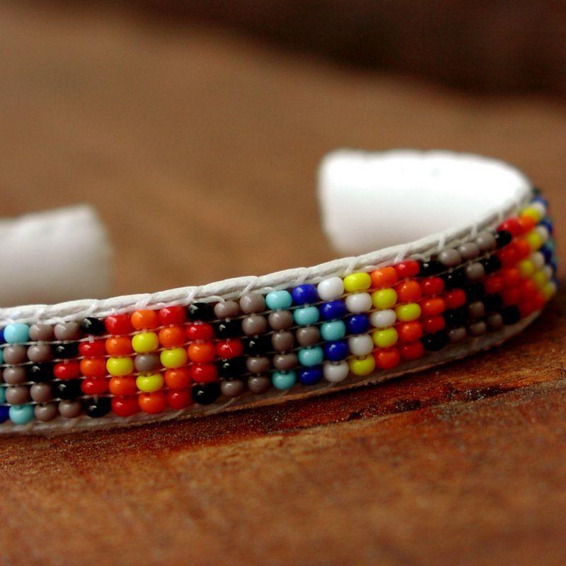 画像1: ナバホ ビーズ ブレスレット/Beaded Bracelet Navajo