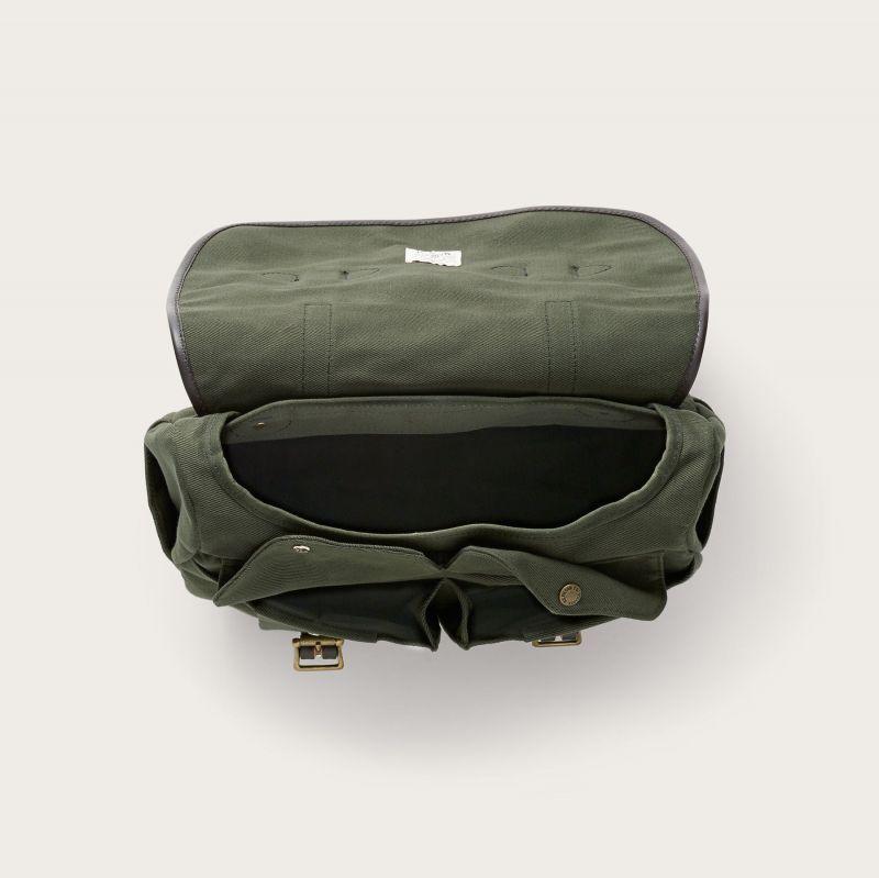 画像3: フィルソン ラージショルダーバッグ(オッターグリーン)/Filson Medium Field Bag(Otter Green)