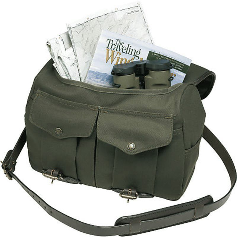 画像5: フィルソン ラージショルダーバッグ(オッターグリーン)/Filson Medium Field Bag(Otter Green)