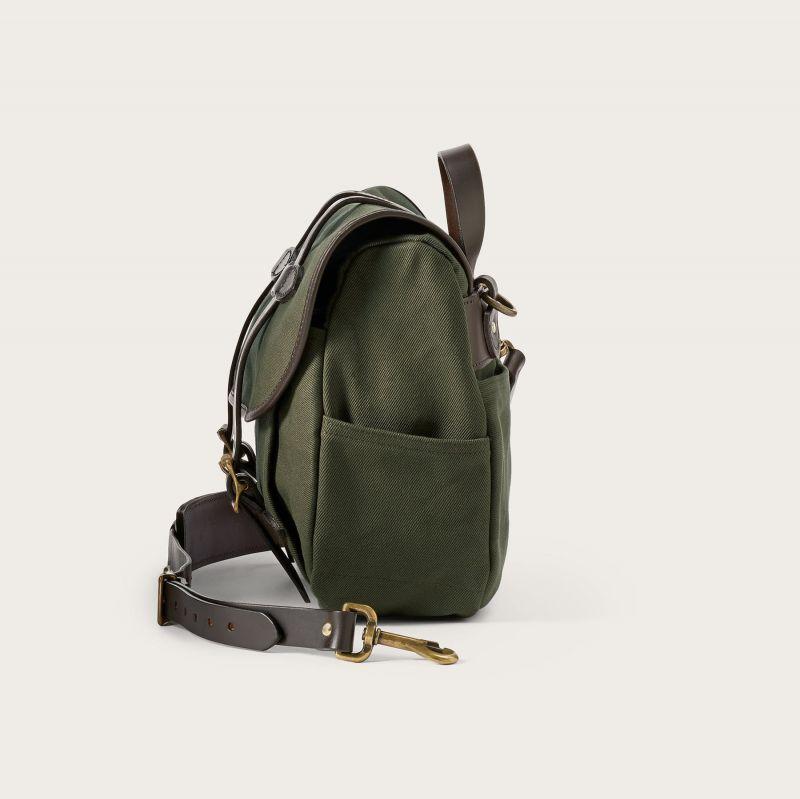 画像4: フィルソン ラージショルダーバッグ(オッターグリーン)/Filson Medium Field Bag(Otter Green)