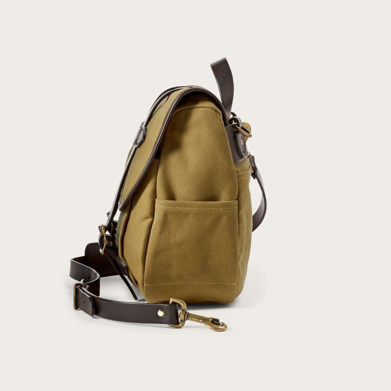 画像4: フィルソン ラージショルダーバッグ(カーキ)/Filson Medium Field Bag(Tan)
