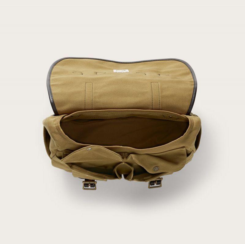 画像3: フィルソン ラージショルダーバッグ(カーキ)/Filson Medium Field Bag(Tan)
