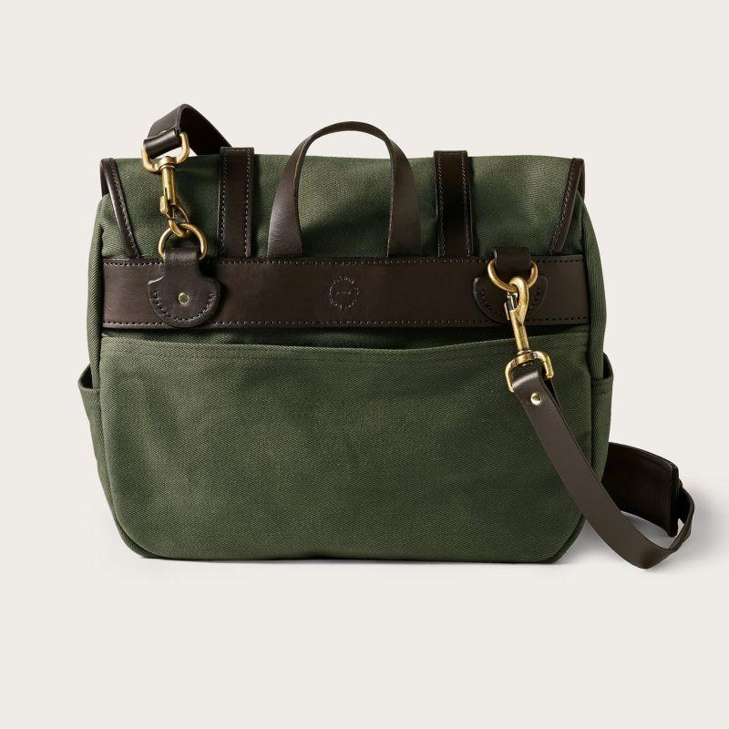 画像2: フィルソン ラージショルダーバッグ(オッターグリーン)/Filson Medium Field Bag(Otter Green)