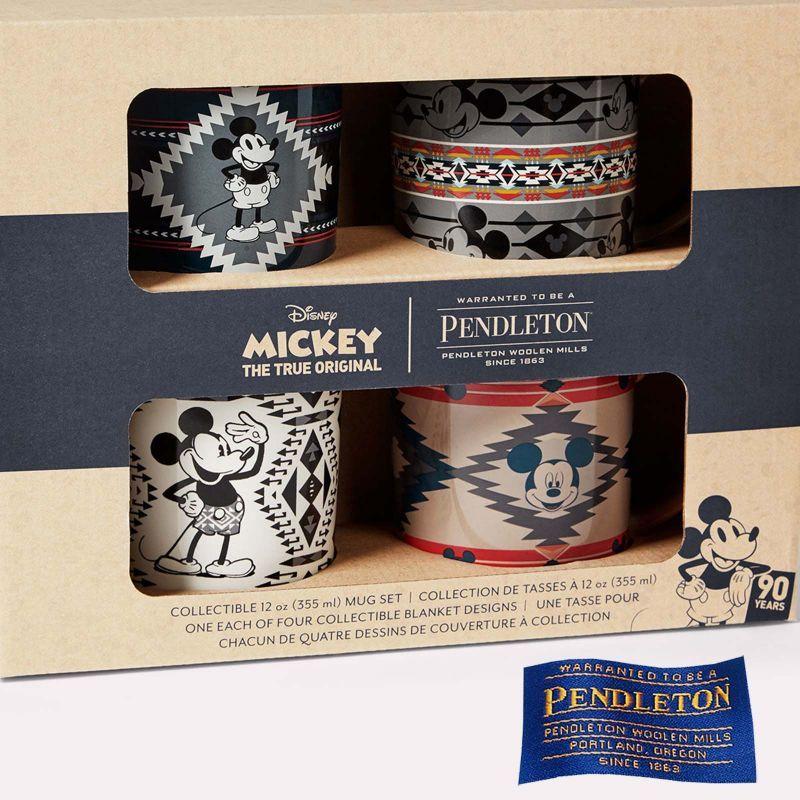 画像1: ペンドルトン ディズニー ミッキーマウス コレクティブル セラミックマグセット(4個セット)/Pendleton Disney's Mickey Mouse Collectible Mug Set