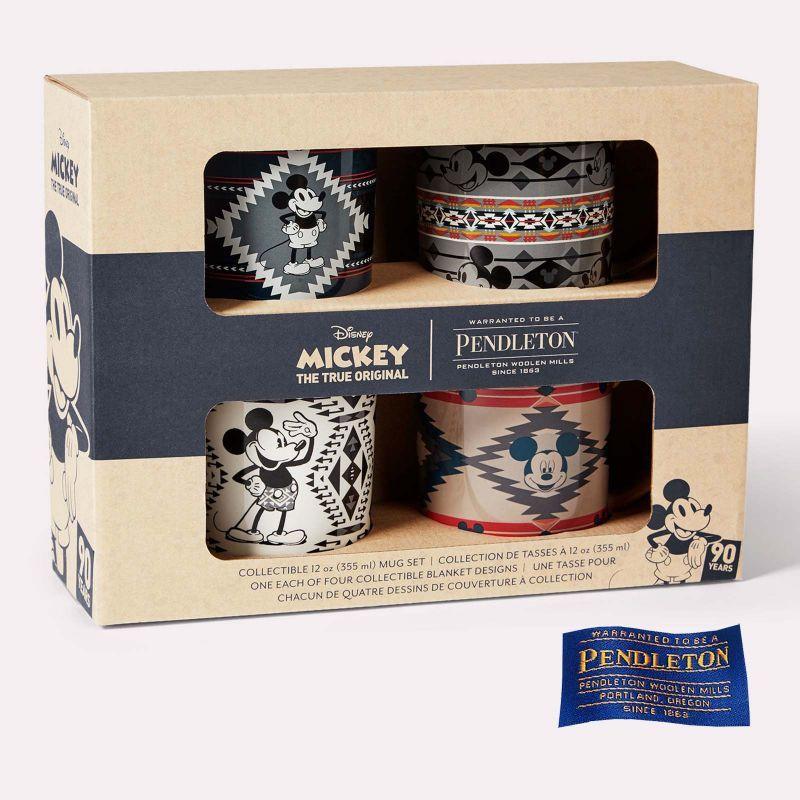 画像3: ペンドルトン ディズニー ミッキーマウス コレクティブル セラミックマグセット(4個セット)/Pendleton Disney's Mickey Mouse Collectible Mug Set