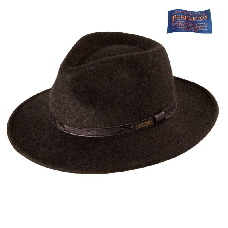 画像1: ペンドルトン インディ ハット(ブラウンミックス)M/Pendleton Indy Hat(Brown Mix)