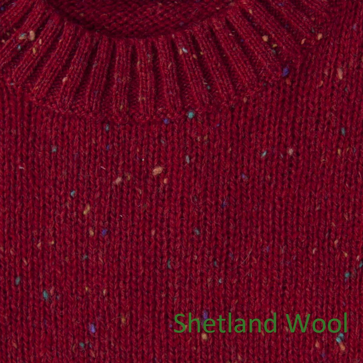 画像2: ペンドルトン シェトランド ウール セーター(レッド)S/Pendleton Shetland Wool Sweater Red