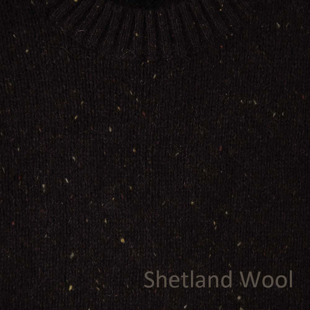 画像2: ペンドルトン シェトランド ウール セーター(ブラウン)XS/Pendleton Shetland Wool Sweater Brown
