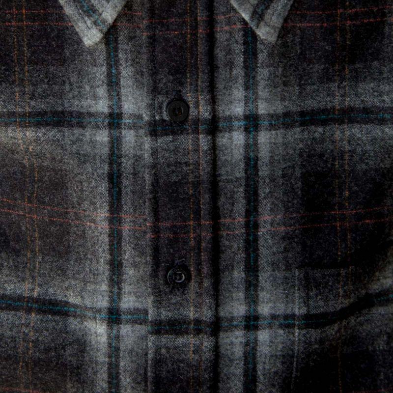 画像2: ペンドルトン ウールシャツ ロッジシャツ グレー・ブラックプラッドS/Pendleton Lodge Shirt