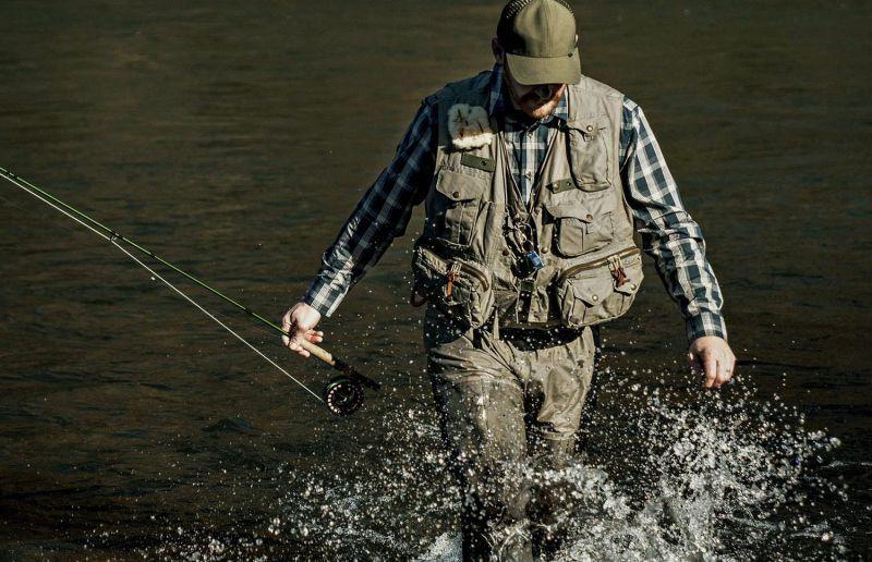 画像4: フィルソン ガイド ベスト(オリーブグリーン)/Filson Fly Fishing Guide Vest(Green)