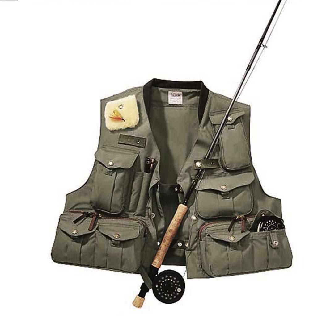 画像5: フィルソン ガイド ベスト(オリーブグリーン)/Filson Fly Fishing Guide Vest(Green)