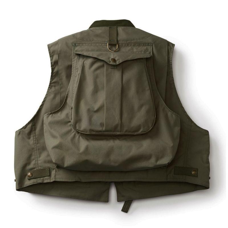 画像3: フィルソン ガイド ベスト(オリーブグリーン)/Filson Fly Fishing Guide Vest(Green)