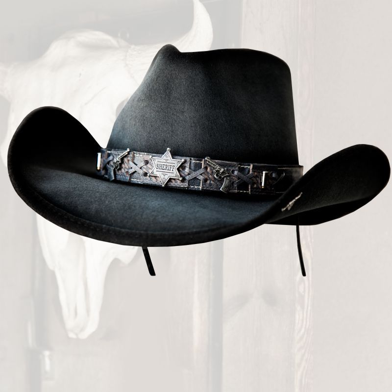 画像2: ベスト ショット ウエスタン プレミアムウール ハット(グレー)/Western Premium Wool Hat(Gray)