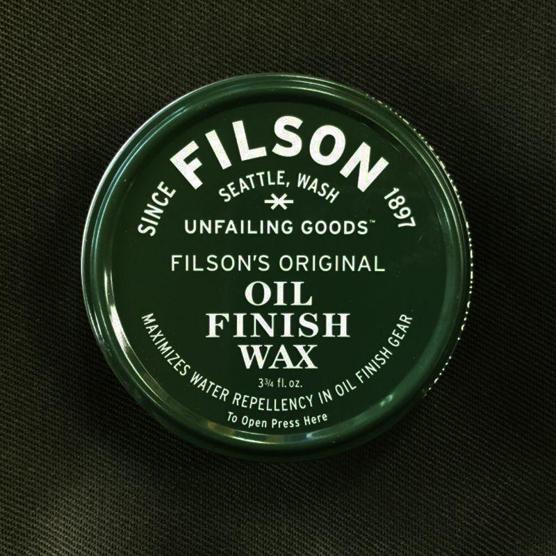 画像1: フィルソン オイルフィニッシュワックス/Filson One Can of Oil Finish Wax(3¾ fl. oz.)
