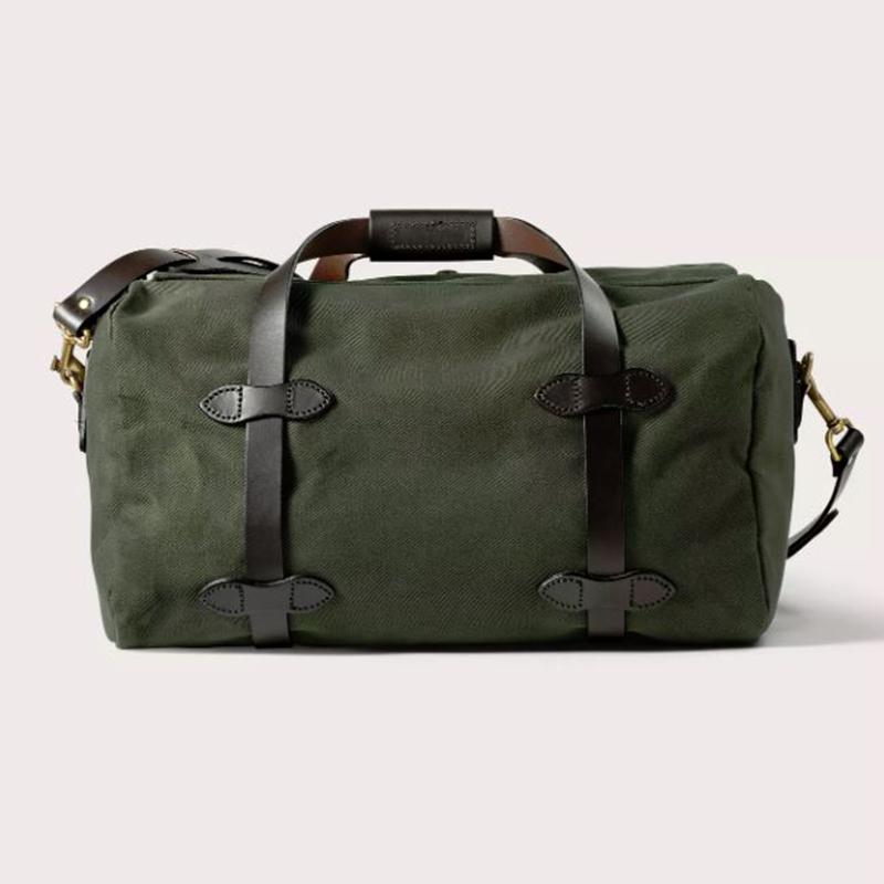 画像3: フィルソン スモールダッフル(オッターグリーン)/Filson Small Duffle Bag(Otter Green)