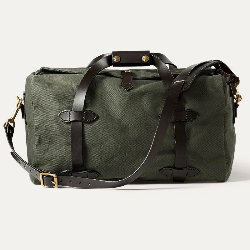 画像2: フィルソン スモールダッフル(オッターグリーン)/Filson Small Duffle Bag(Otter Green)
