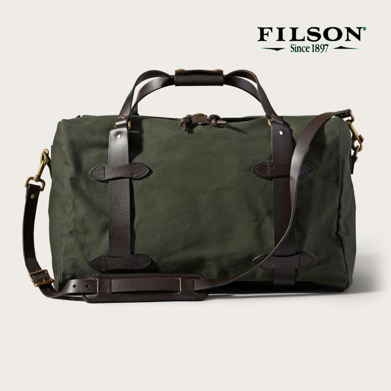 画像1: フィルソン ミディアム ダッフル(オッターグリーン)/Filson Medium Duffle Bag(Otter Green)