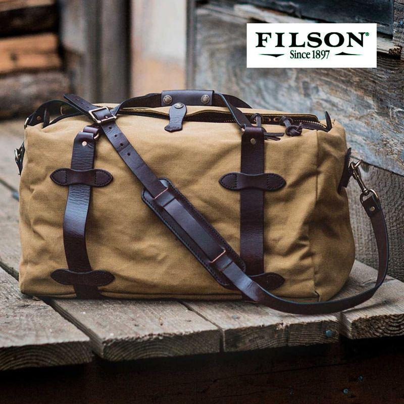 画像1: フィルソン スモールダッフル(タン)/Filson Small Duffle Bag(Tan)