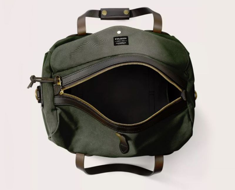 画像4: フィルソン スモールダッフル(オッターグリーン)/Filson Small Duffle Bag(Otter Green)