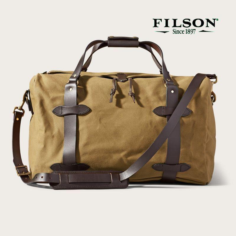 画像1: フィルソン ミディアム ダッフル(タン)/Filson Medium Duffle Bag(Tan)