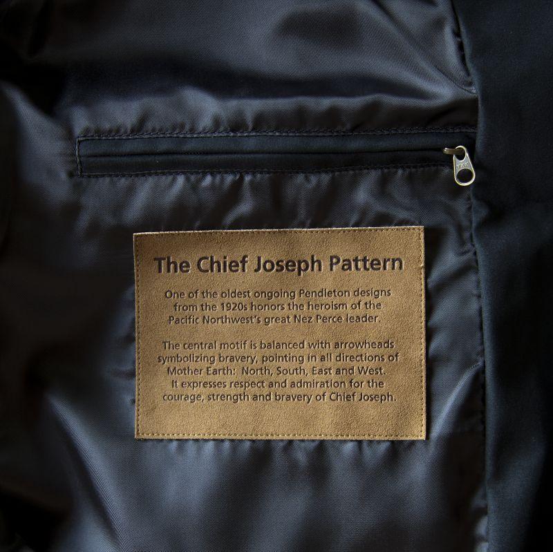 画像3: ペンドルトン チーフジョセフ ジャケット ターコイズ/Pendleton Jacket(Chief Joseph Turquoise)