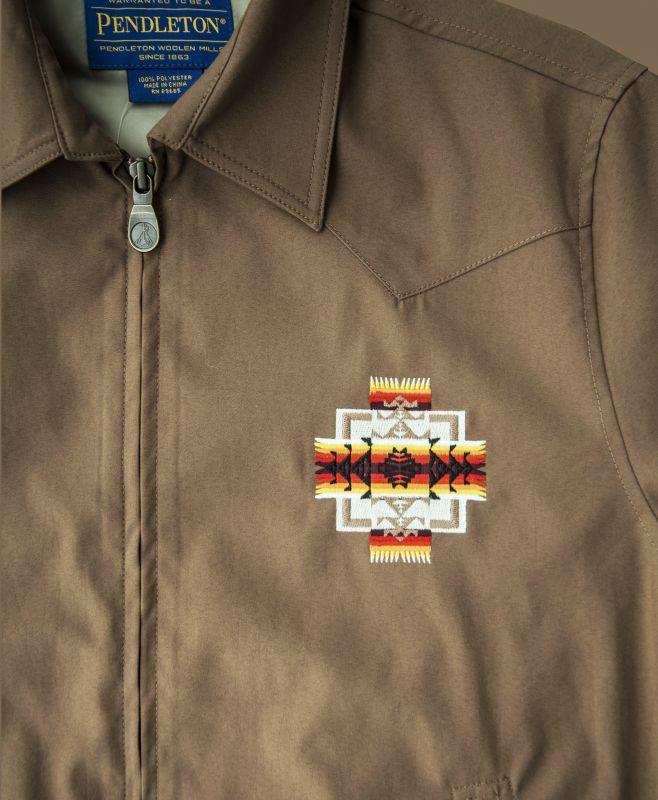 画像2: ペンドルトン チーフジョセフ ジャケット ターコイズ/Pendleton Jacket(Chief Joseph Turquoise)